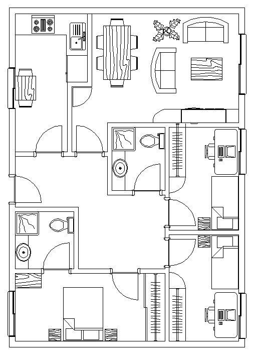 Planos modelo Guipuzkoa