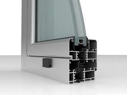 sección ventana tipo climalit