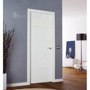 Puerta interior blanca
