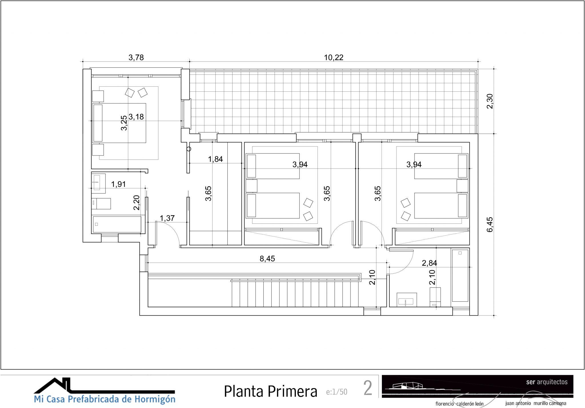 plano aragón primera planta