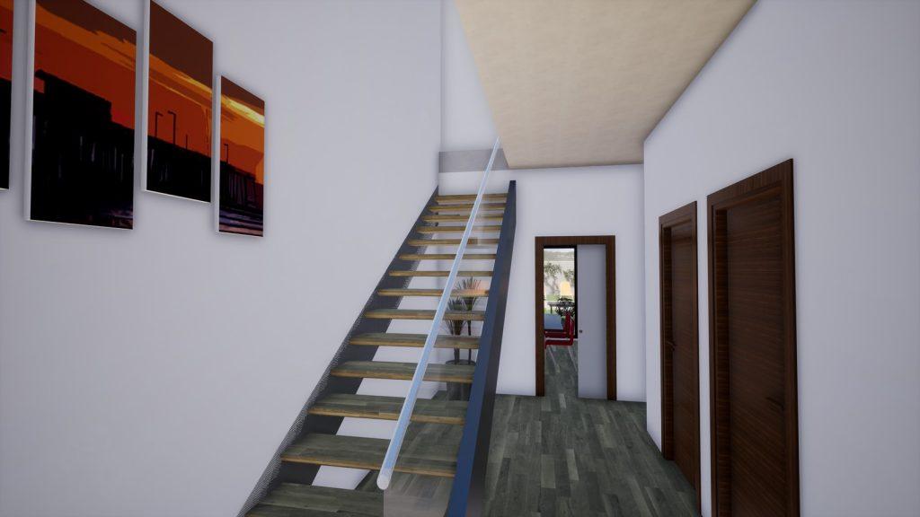 coruña escaleras